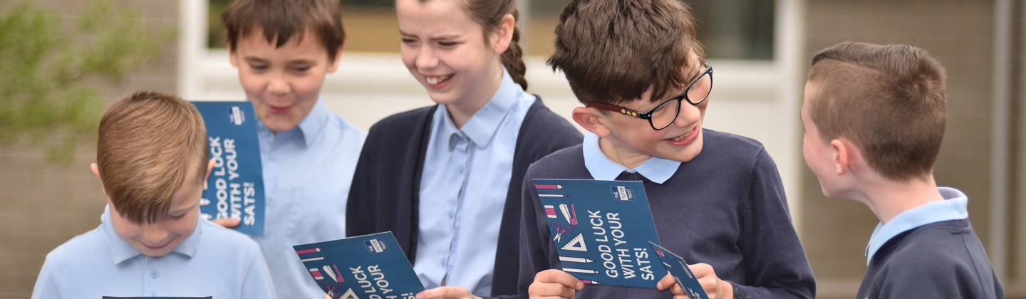 Good Luck to all our Primary Pupils in their SATs! - 15th May 2019