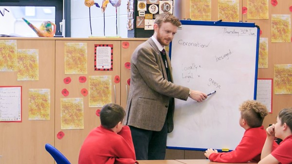 Male role models in tutoring, Craig Rose - 19th November 2020
